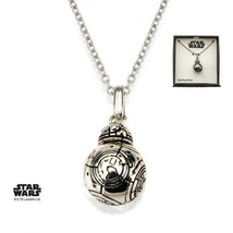 Disney Star Wars BB-8 Lead Hero Droid Spinning Head 3D Pendant with Chain - $74.20