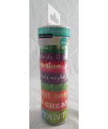 Recollections Color Splash Washi Tape 1 Tube 8 rolls 7 10yd 1 5yd Foil - $17.67