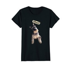 Stefan the Schnauzer says What t-shirt - $19.99+