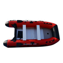 BRIS 12ft Inflatable Boat Dinghy Raft Pontoon Rescue & Dive Raft Fishing Boat image 8