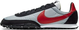 NIKE WAFFLE RACER BLACK/WHITE/GREY/RED SIZE 11 NEW FAST SHIPPING (CN5449... - $99.55