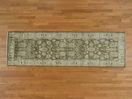 3'x10' Oushak Hand Knotted Pure Wool Oriental Runner Rug G38568 - $445.50