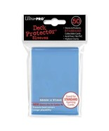 50 Ultra Pro Light Blue Standard Deck Protector Card Sleeve Pokemon MTG ... - $5.99
