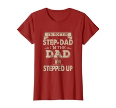 New Shirts - Funny Step Dad Fathers Day t-shirt Wowen - $19.95