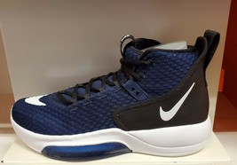 Nike Zoom Rize TB Men's Basketball Shoes Navy Blue/White/Black BQ5468-402 - $199.99
