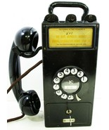 Original Gray Pay Station with Dial / Telephone Model 23D - $995.00