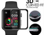 3D Curved Full Coverage Tempered Glass Protective Film For iwatch Apple Watch Se