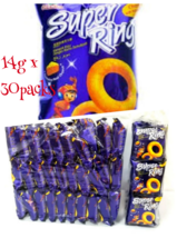 SHARE WITH ur LOVED ONES!! Oriental SUPER RING Cheese Snacks 14gx30 FAST... - $59.30