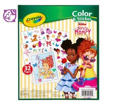 Crayola Disney Fancy Nancy Color & Sticker Book 32 Pages NEW SEALED - $7.00