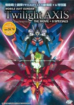 Gundam Twilight Axis The Movie+6 Special English Subtitle Ship From USA