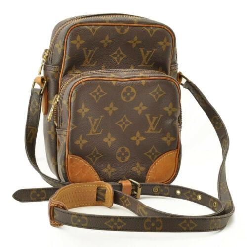 LOUIS VUITTON Monogram Amazon Shoulder Bag M45236 LV Auth 9683 **Sticky