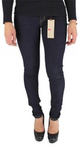 NEW NWT LEVI'S 535 JUNIOR'S SKINNY JEAN LEGGINGS DARK BLUE DENIM 119970001