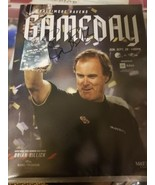 BRIAN BILLICK AUTOGRAPHED 2019 GAMEDAY MAGAZINE BALTIMORE RAVENS PROGRAM  - $25.73