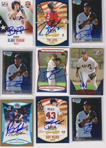 Team USA Baseball Signed Autographed Lot of (9) Baseball Cards - $14.99