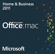 Microsoft Office for Mac 2011 Home & Business Key with Download - $10.90