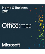 Microsoft Office for Mac 2011 Home & Business Key with Download - $206,56 MXN