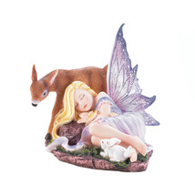 Fairy Figurines And Statues, Miniature Fairy Figurines, Woodland Fairy F... - $28.93