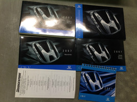 2007 Honda CR-V Crv Factory Owners Manual Oem Book Glove Book 2007 Honda Set X - $79.19