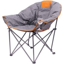 Creative Outdoor 810501 Folding Wine Bucket Chair (Gray/Orange) - $116.69
