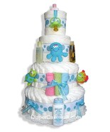 Under The Sea 3 or 4 Tiers Diaper Cake - $125.00