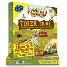 Kaadoo Board Game - Tiger Trail-Central India Edition.Your safari on the... - $29.19
