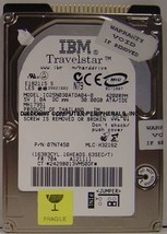 30GB 2.5in IDE Drive IBM IC25N030ATDA04-0 Tested Free USA Ship Our Drives Work