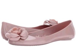 NEW KATE SPADE Women's Pink Jade Jelly Flower Flats US 8 - $39.59