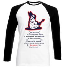Chief Crowfoot What Is Life - New Black Sleeved Baseball Cotton Tshirt - $27.61
