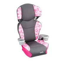 Convertible Car Seat 2 in 1 High Back Backless Toddler Big Kid Booster C... - $44.54