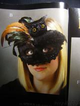 Bethany Lowe Halloween Owl Masquerade Mask no. LO5569 image 1