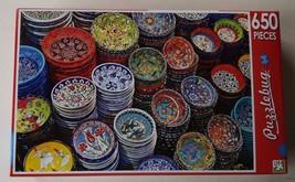 New SEALED Puzzle 650 pc Turkish Ceramics on the Market Puzzlebug - $6.92