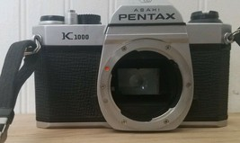 Asahi Pentax K1000 K Mount 35mm SLR Film Camera Body Only - Fast Ship A1 - $79.19
