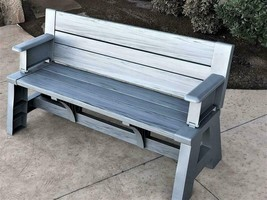 Premiere Products 5Rcatpg Convert A Bench, Platinum Gray - $156.99+