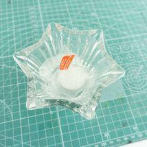 "VTG Mikasa Japan Votive 5"" Six Sided Tealight Candle Holder Key Glass Decorative image 7"