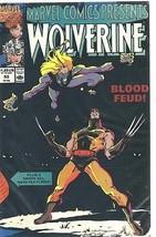 Marvel Comics Presents #53 - 1991 - Wolverine, Black Widow, Silver Sable... - $1.19
