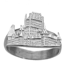 Sterling Silver 925 Bran Dracula Hotel Castle Ring Romania Transylvania ... - $25.07