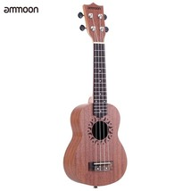 Ukulele 21 Mini Acoustic Guitar  Concert Frets 4 String Guitar String In... - $47.67