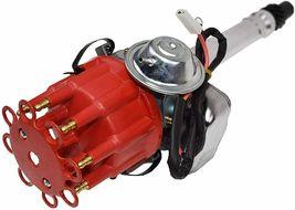 R2R Distributor 50K Volt E-Coil SBC BBC 327 350 396 454 Chevrolet Red Small Cap image 4