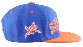 Young & Reckless LA Block Royal Blue Orange Snapback Baseball Hat Cap NWT image 3