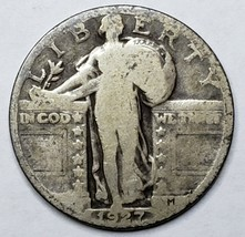1927 Standing Liberty Silver Quarter Coin Lot 519-79