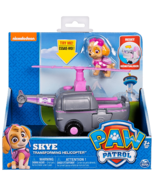 Paw Patrol Skye Transforming Helicopter Vehicle with Skye Figure Ages 3+ - $14.11