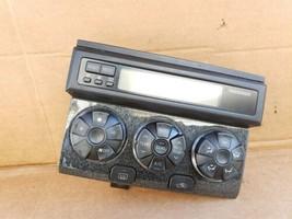06-09 Toyota 4runner Air AC Heater Climate Control Panel Dash Clock (II)
