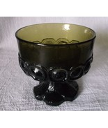 Franciscan Tiffin MADEIRA Olive GREEN Glass Gob... - $17.98
