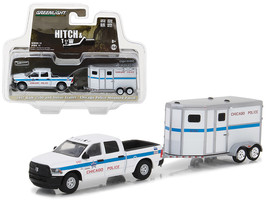 2017 Dodge Ram 2500 and Horse Trailer Chicago Police Mounted Patrol Hitc... - $24.40