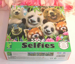 """Ceaco Jigsaw Puzzle Selfies Bears 550 Pieces  24"""" x 18"""" - $12.99"""