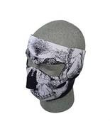 SKULL Neoprene Face Mask Biker Motorcycle Ski Cold Protection Snow Board... - $11.99