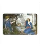 Annunciation Mary Angel John William Waterhouse Art Vinyl Fridge Magnet - $6.64