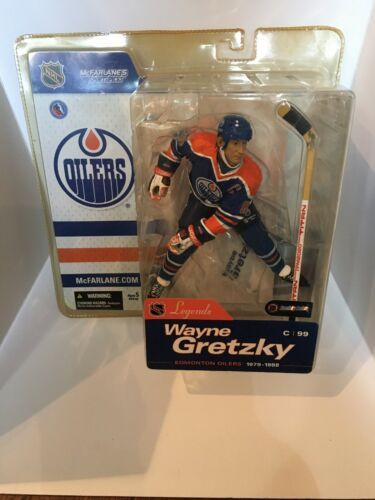 2004 Wayne Gretzky NHL Legends Series 1 Mcfarlane Figure