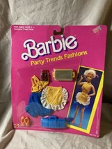 Vintage Mattel 1989 Barbie Party Trends Fashions & Accessories # 715-3 ... - $19.79