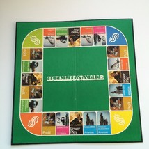 Vintage 1973 Spare Replacement Parker Brothers Billionaire Game Board Only - $17.79